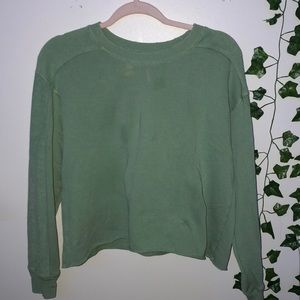 Aerié Woman's Green Sweater Small
